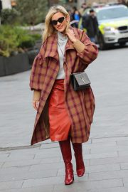Ashley Roberts - Seen while leaving Heart radio in London