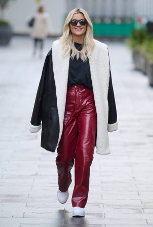 Ashley Roberts - Wearing an outfit by Mistress Rocks in London