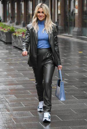 Ashley Roberts - Wearing ASOS at Heart Radio Studios in London