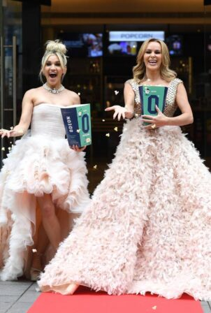 Ashley Roberts - With Amanda Holden at Odeon Cinema in London