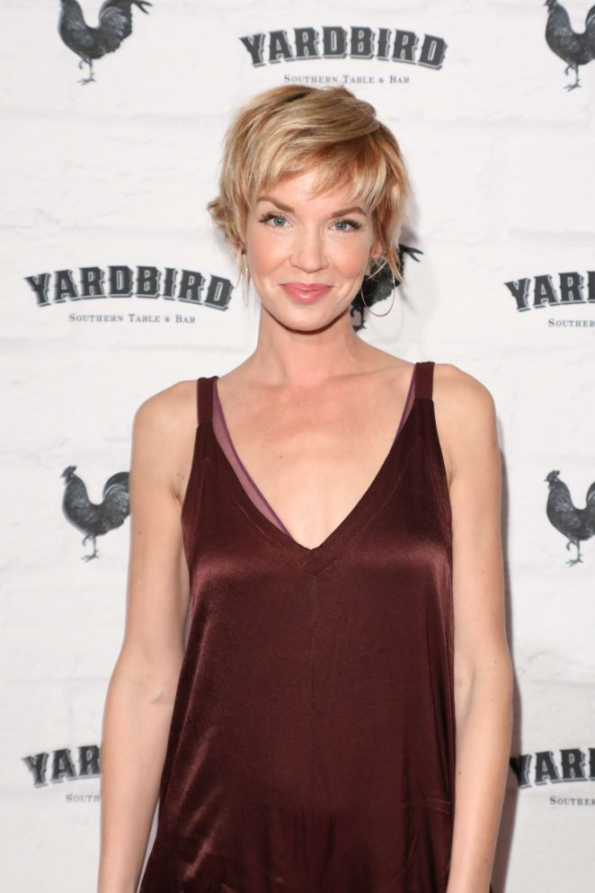 Ashley Scott - Grand Opening of Yardbird Southern Table and Bar in LA