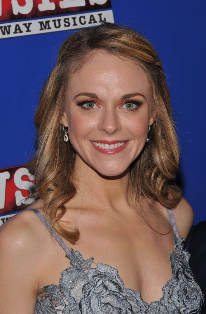 Ashley Spencer - 'Newsies' The Broadway Musical Premiere in NY