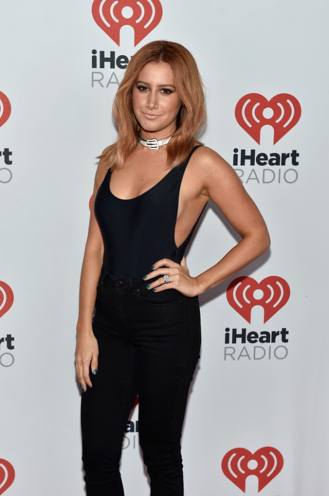 Ashley Tisdale - 2015 iHeartRadio Music Festival in Las Vegas