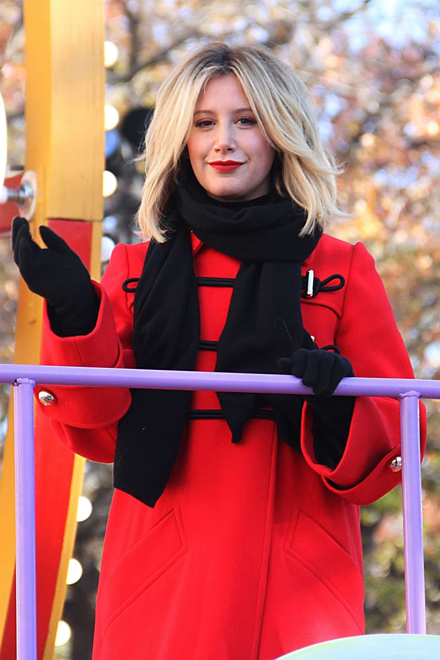 Ashley Tisdale - 2018 Macy's Thanksgiving Day Parade in NYC