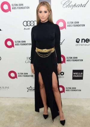 Ashley Tisdale - Oscars 2015 - Elton John AIDS Foundation Academy Awards Party