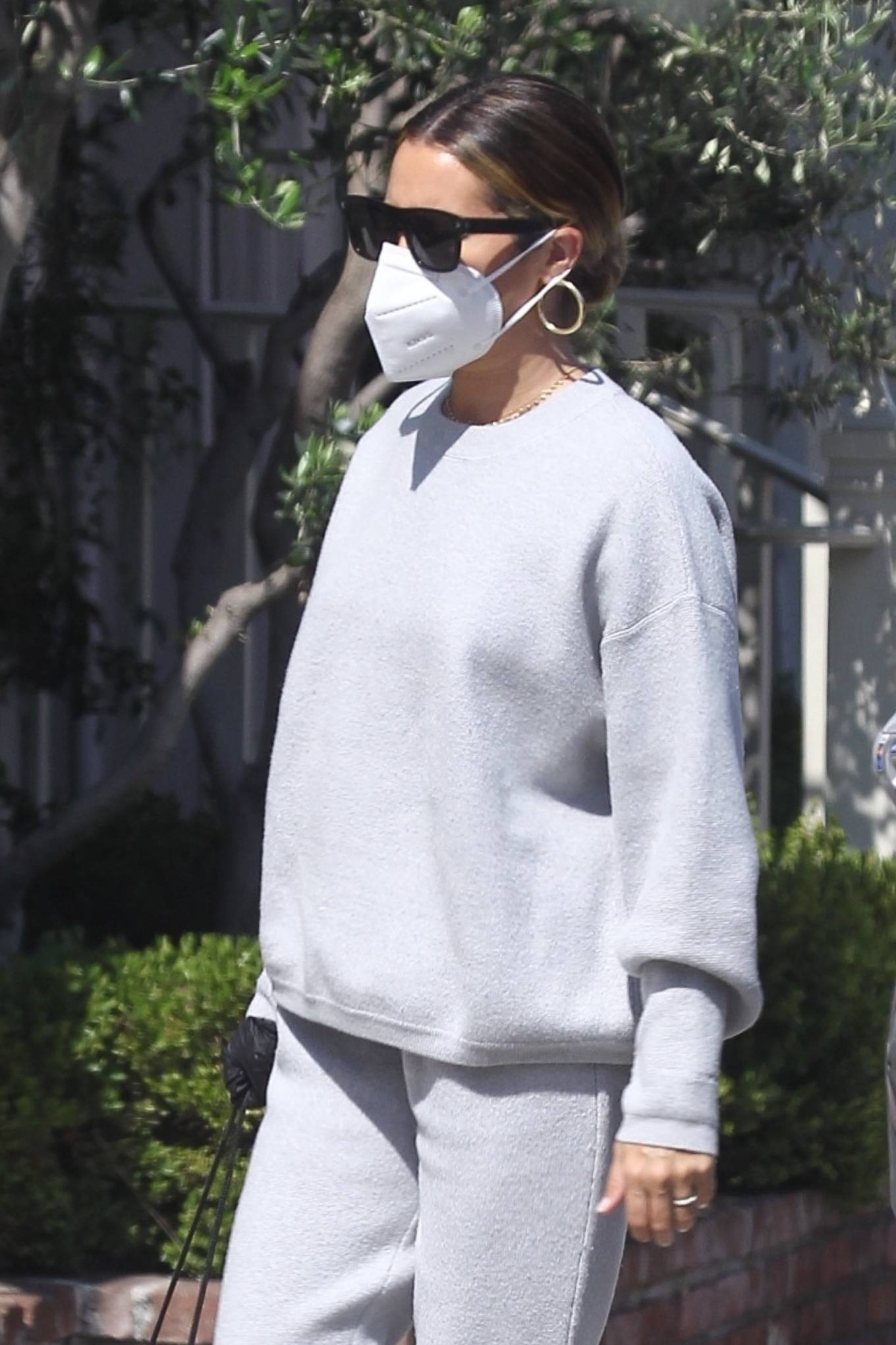 Ashley Tisdale 2020 : Ashley Tisdale – All in gray while out shopping in Beverly Hills-05