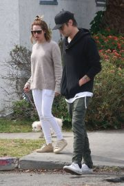 Ashley Tisdale and Christopher French - Out grabbing breakfast in Los Angeles
