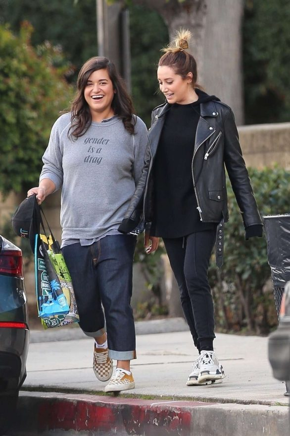 Ashley Tisdale and Sabrina Jalees - Out for lunch together in Los Angeles