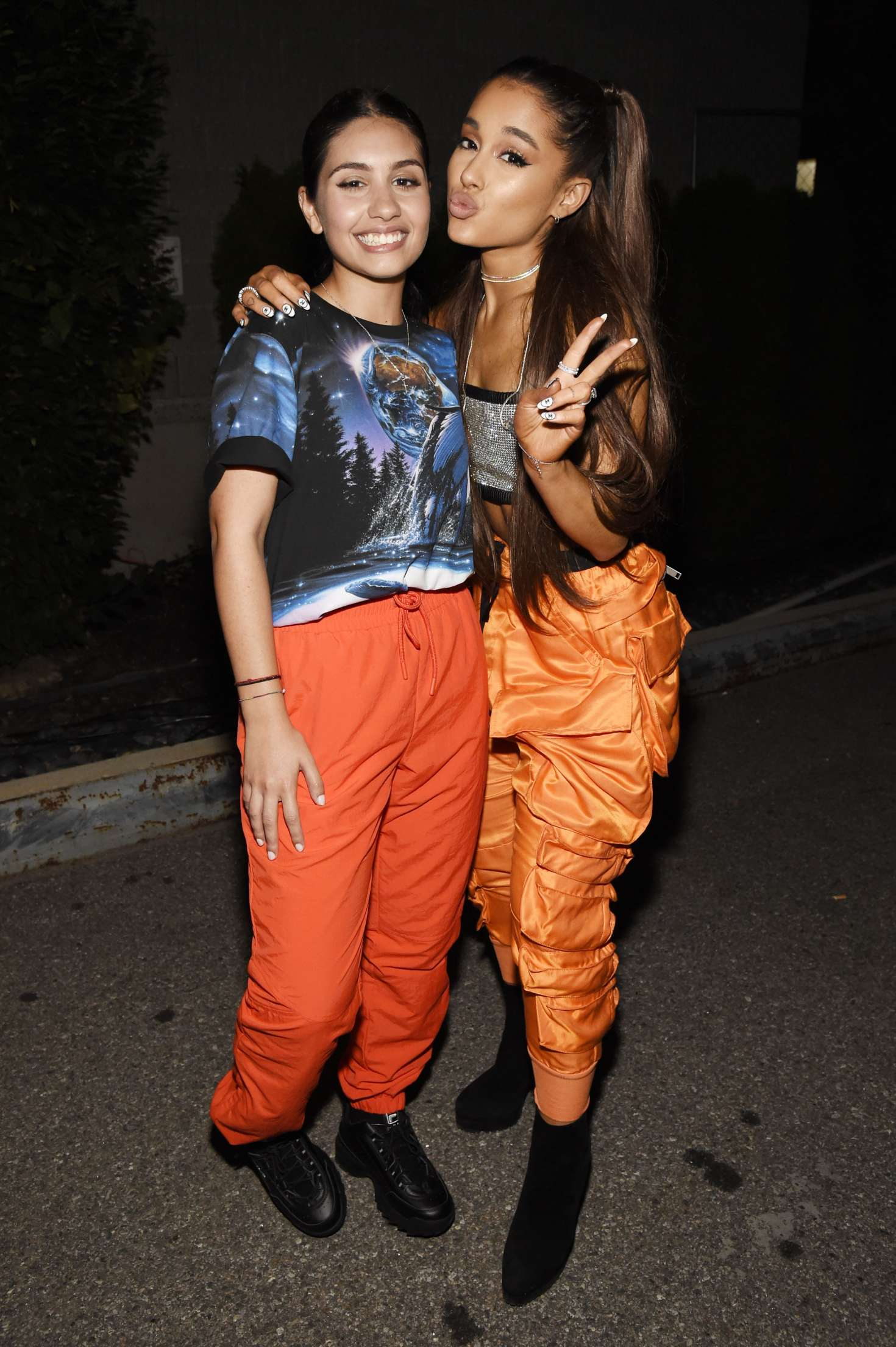 Un Address >> Ashley Tisdale, Ariana Grande and Alessia Cara at the Amazon Music Unboxing Prime Day Event -01 ...