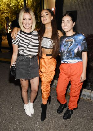 Ashley Ariana and Alessia at the Amazon Music Unboxing Prime Day Event in Brooklyn