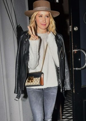Ashley Tisdale - Arrives at Craig's in West Hollywood