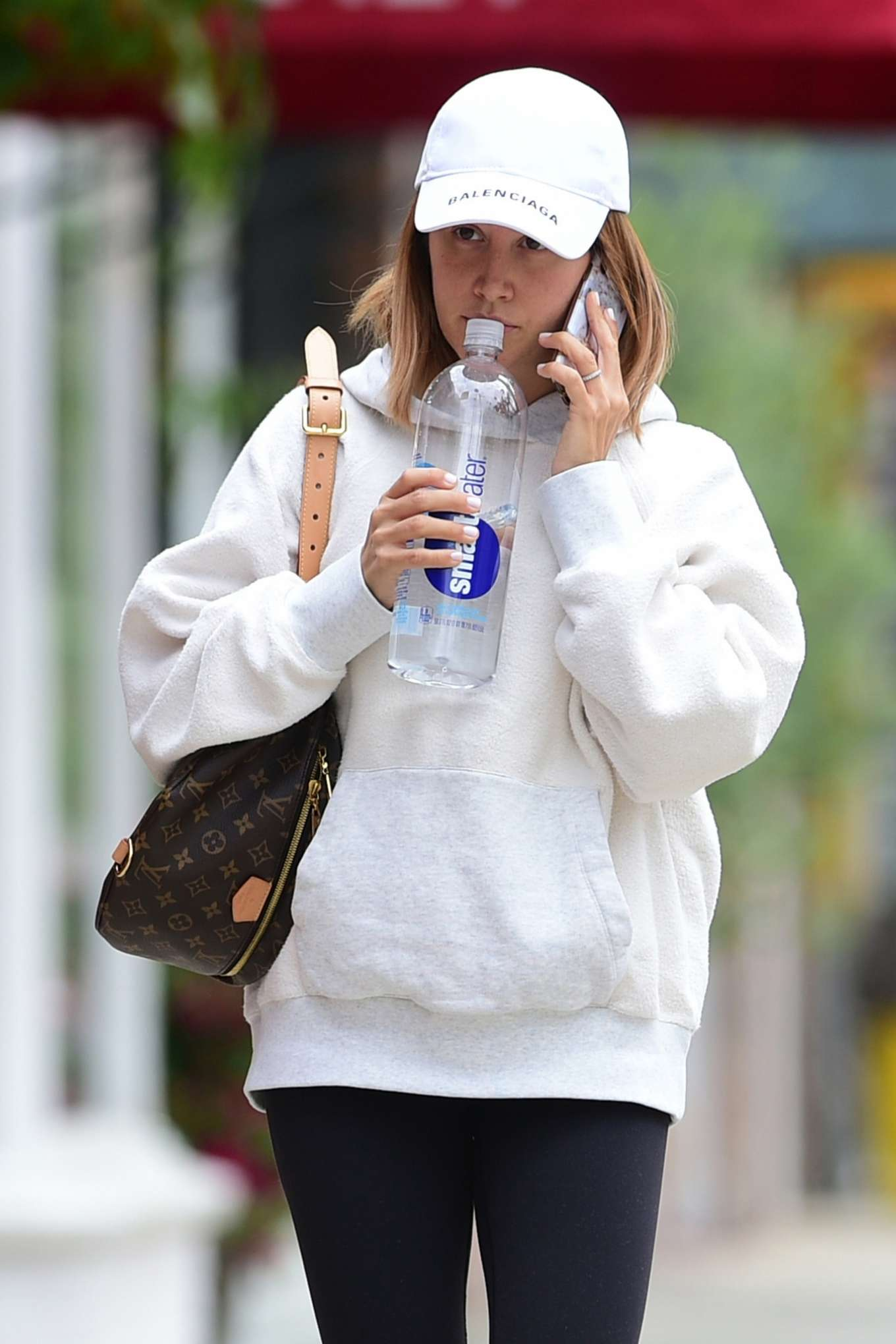 Ashley Tisdale - Arrives at Training Mate in Studio City