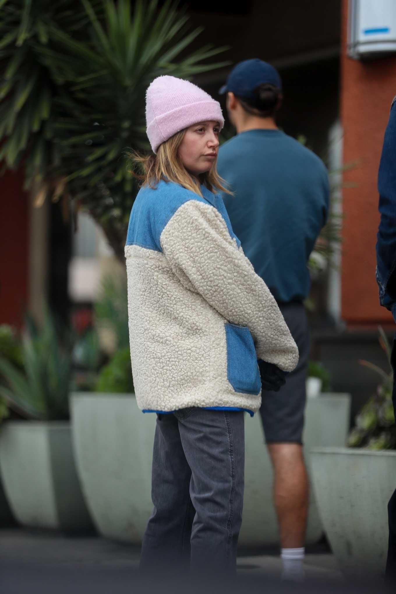 Ashley Tisdale 2020 : Ashley Tisdale at Erewhon Market in Los Angeles-24