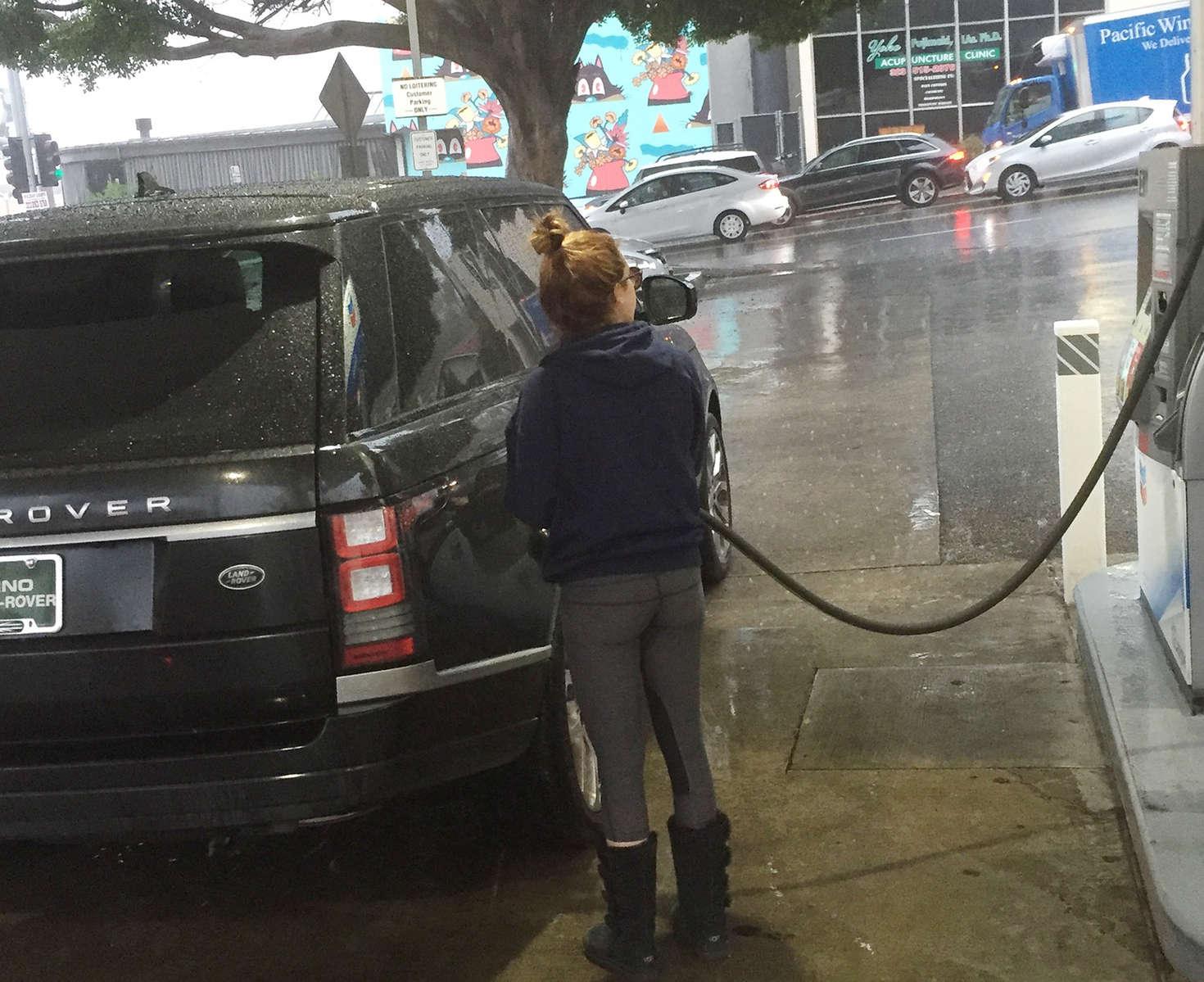Ashley Tisdale 2016 : Ashley Tisdale at Gas Station -06