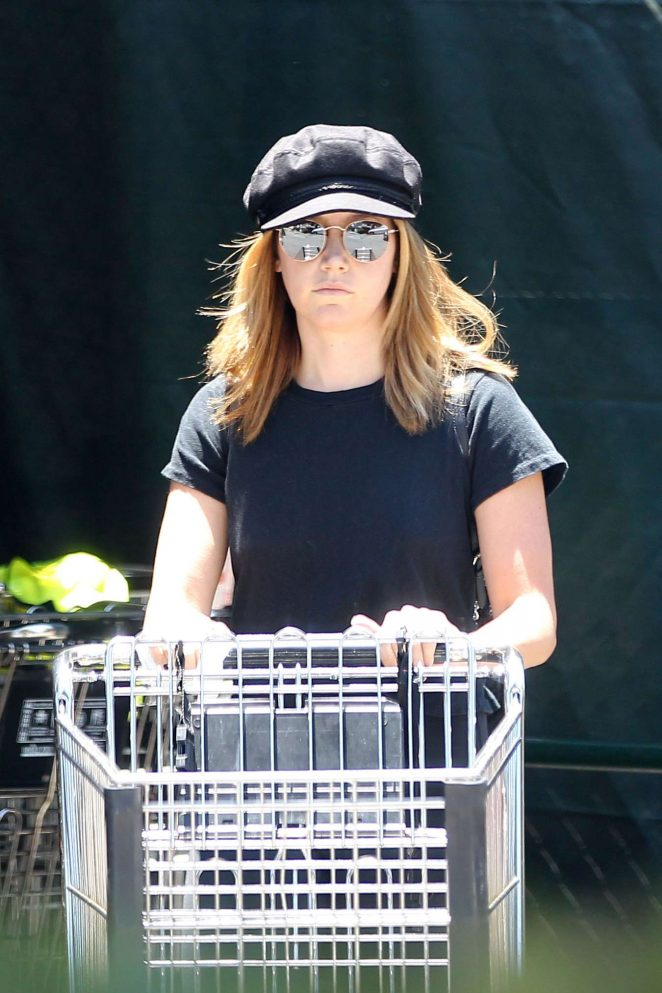 Ashley Tisdale at Whole Foods in LA