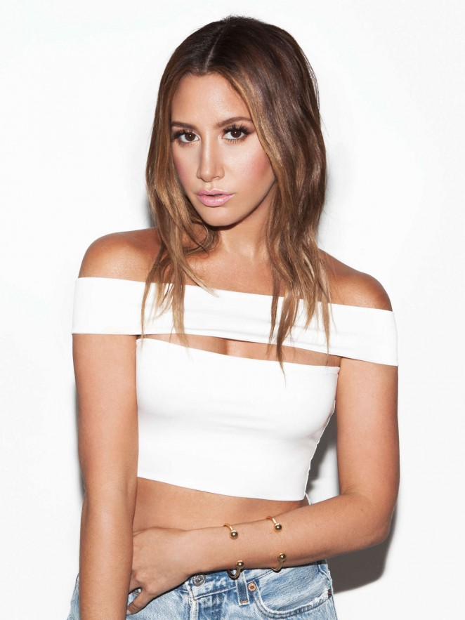 Ashley Tisdale - BH Cosmetics & Women's Wear Daily Shoot (January 2016)