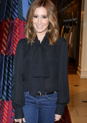 Ashley Tisdale - Brooks Brothers Holiday Party in Beverly Hills