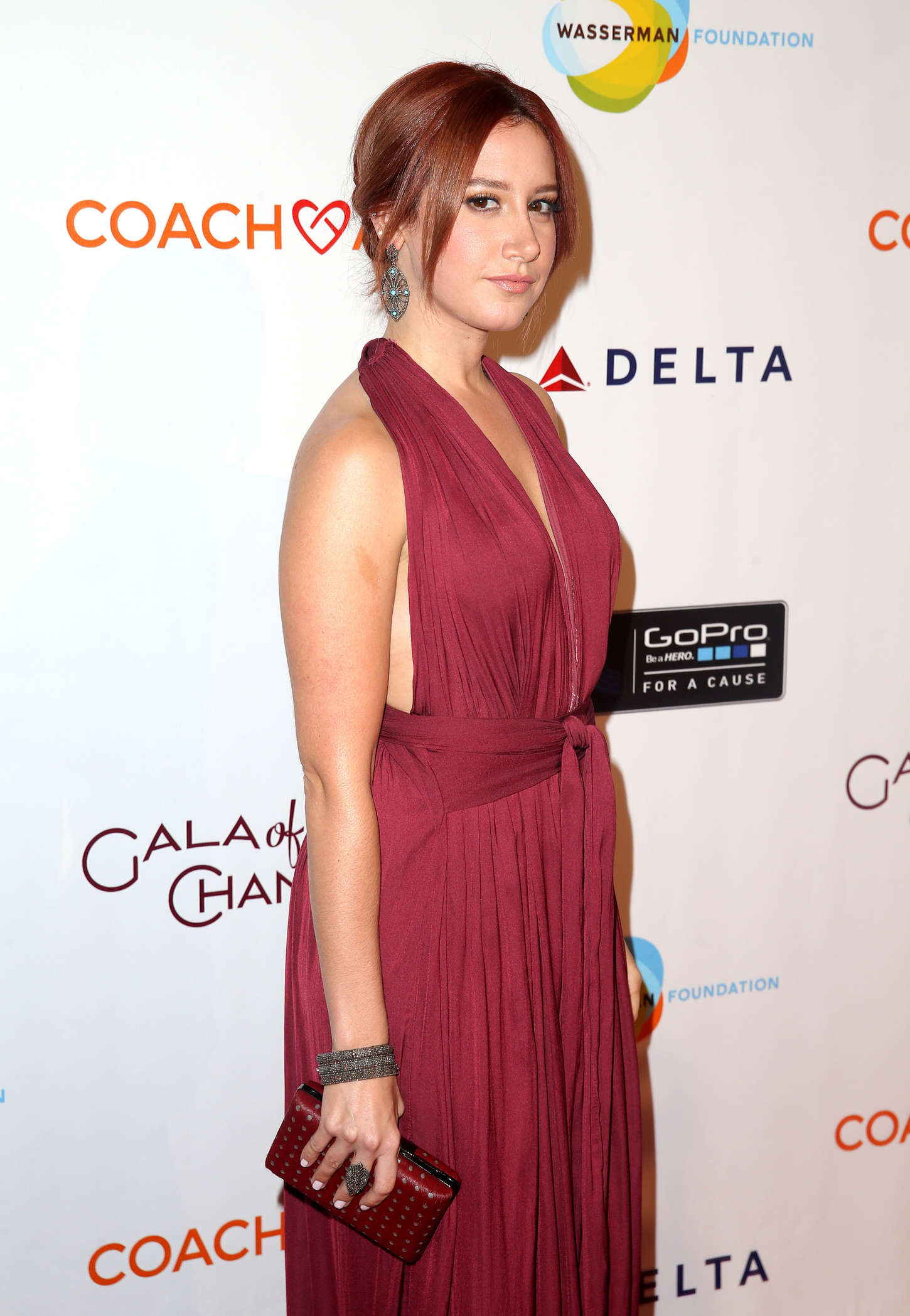 Ashley Tisdale - CoachArt Gala of Champions in Beverly Hills