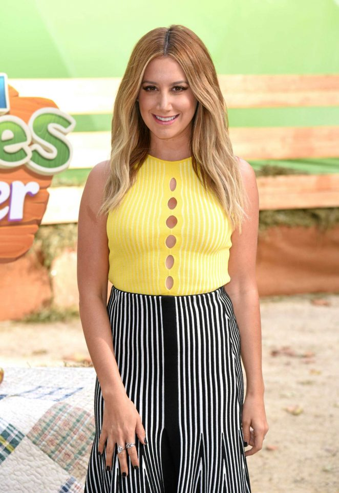 Ashley Tisdale - Farm Heroes Super Saga Launch in New York City