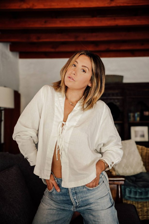 Ashley Tisdale - frenshe photoshoot (August 2020)