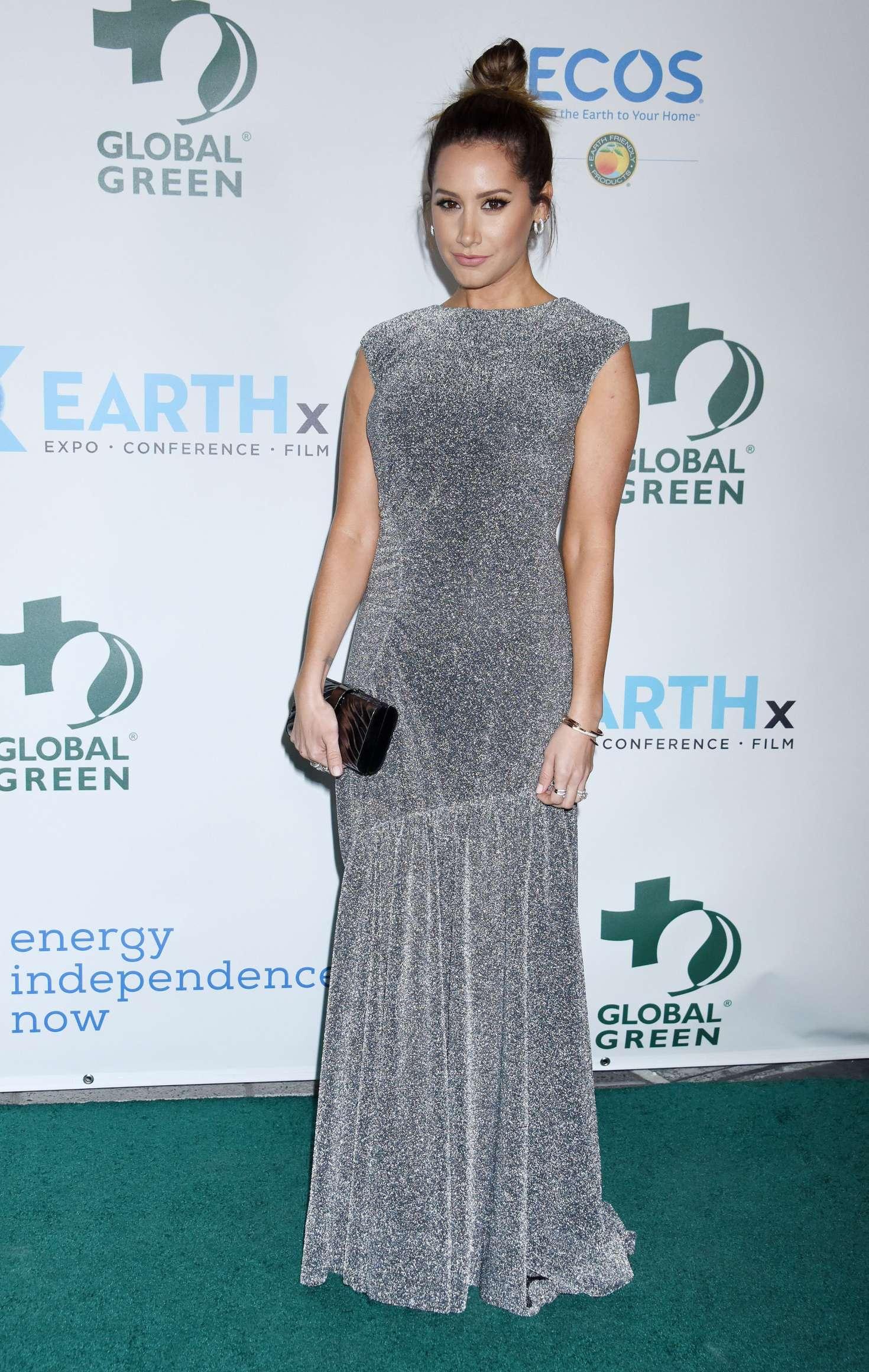Ashley Tisdale 2018 : Ashley Tisdale: Global Green Pre Oscars Party 2018 -03