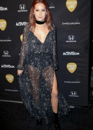 Ashley Tisdale - Guitar Hero Live Launch Party in LA