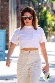 Ashley Tisdale - Heading to a nail salon in Studio City