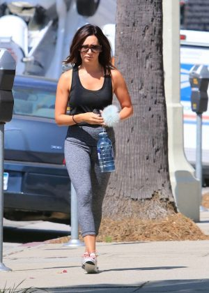 Ashley Tisdale - Heads the gym in LA