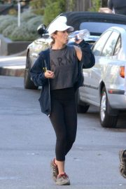 Ashley Tisdale - Hiking in Hollywood