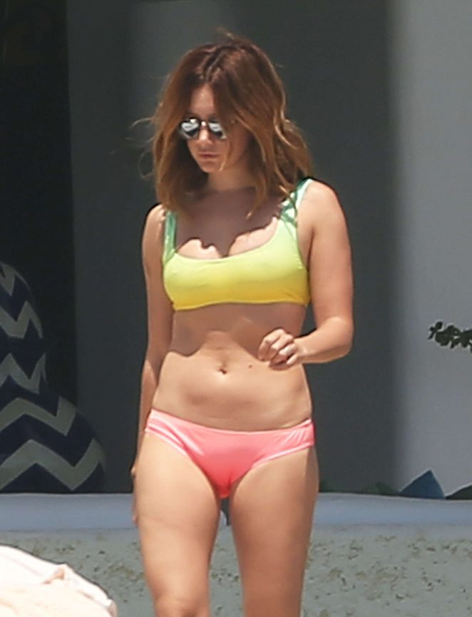 Ashley Tisdale in Bikini in Cabo San Lucas