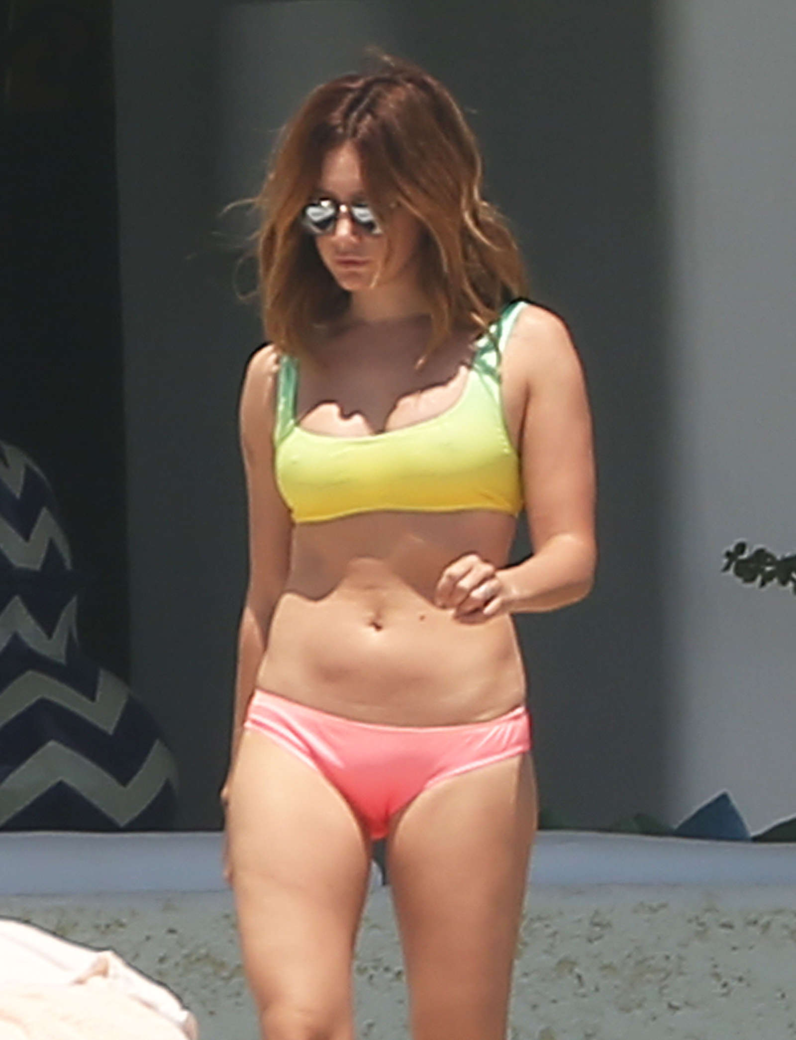 Ashley tisdale bikini shots
