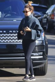 Ashley Tisdale in Tights - Out in Los Angeles