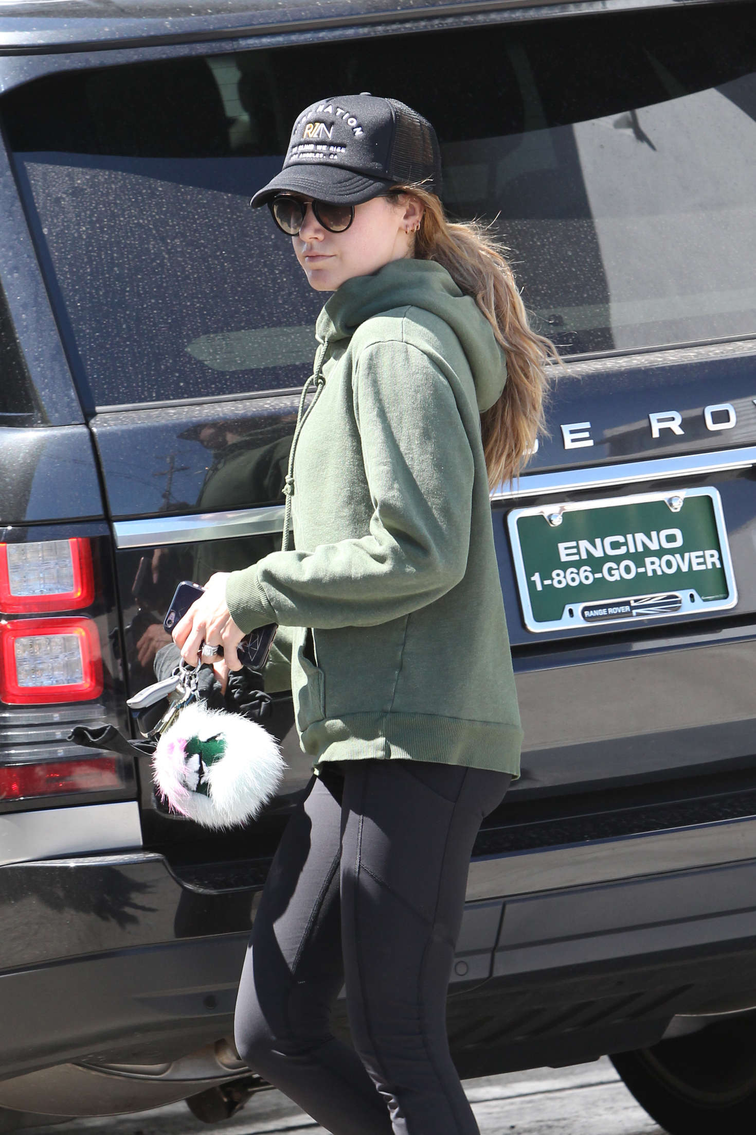 Ashley Tisdale - Leaving the gym in Beverly Hills
