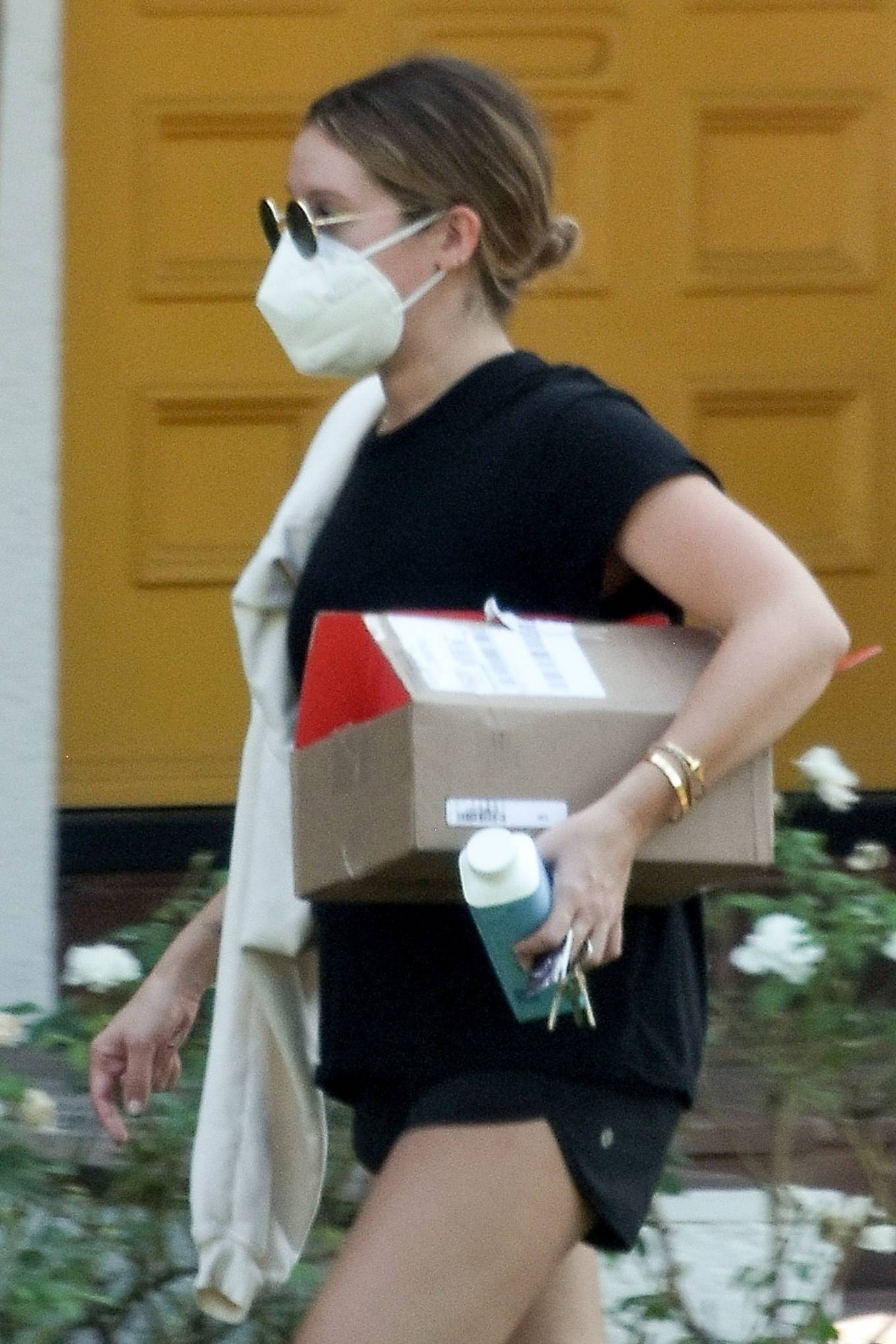 Ashley Tisdale 2020 : Ashley Tisdale – Looks sporty while visits her mom in Toluka Lake-04