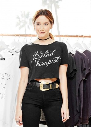 Ashley Tisdale - Mydomaine.com Interview