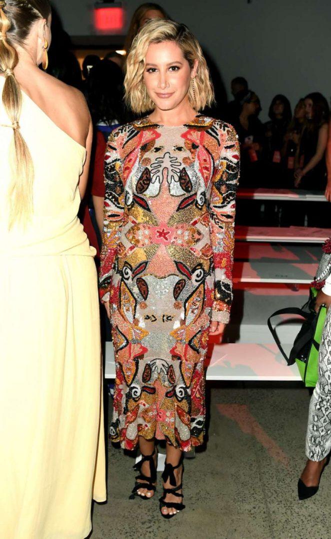 Ashley Tisdale - Naeem Khan Fashion Show in New York