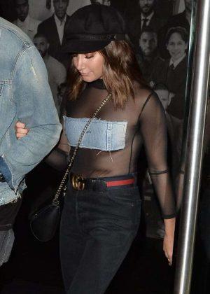 Ashley Tisdale nightout in LA