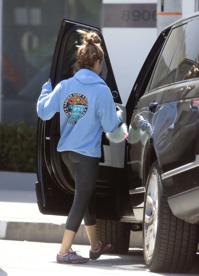 Ashley Tisdale – Out and about in LA