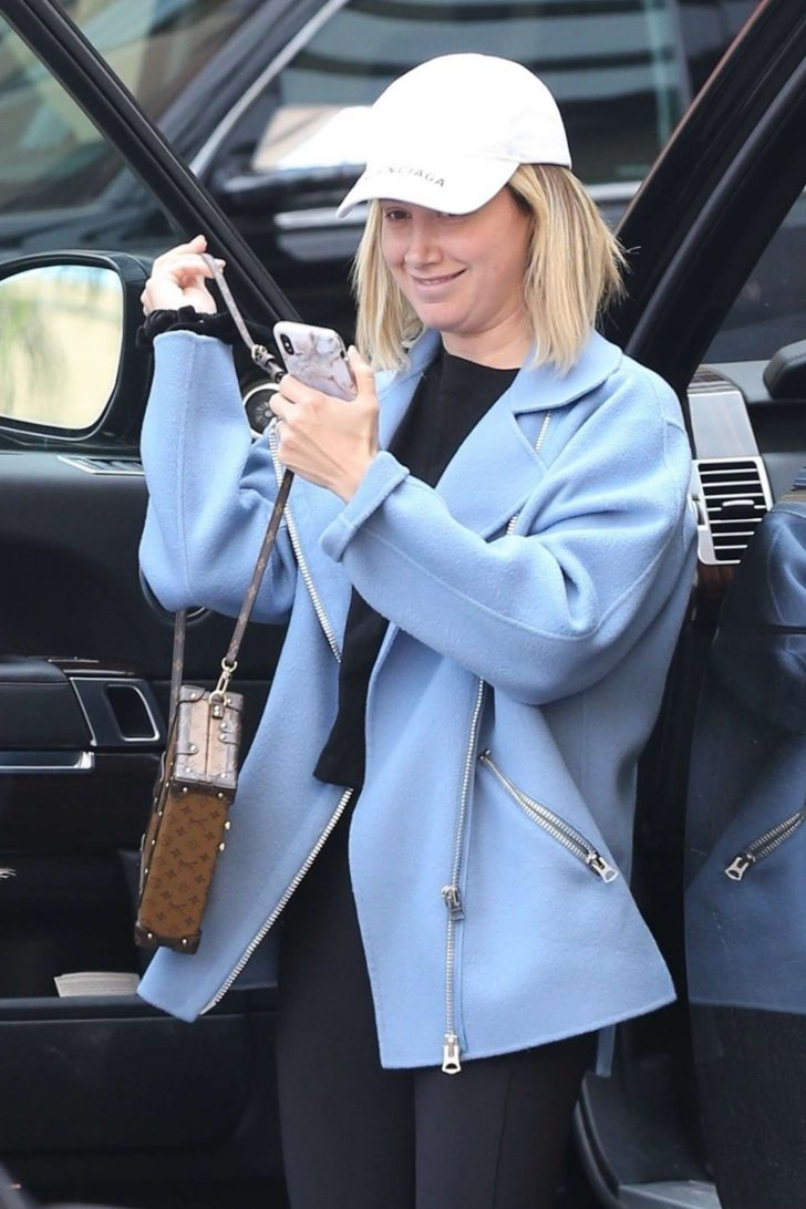 Ashley Tisdale - Out and about in LA
