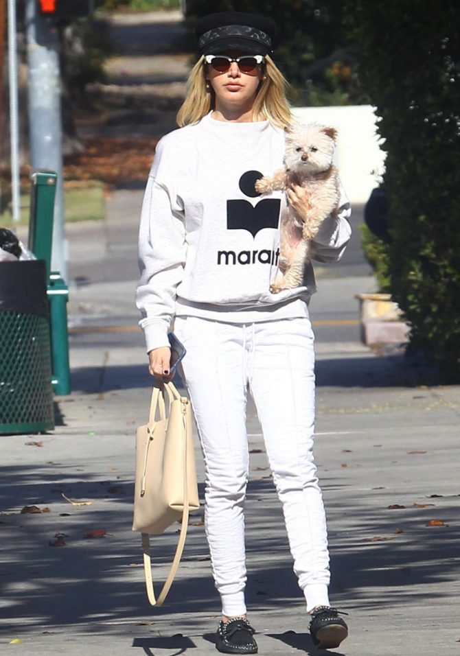 Ashley Tisdale – Out and about in Los Feliz