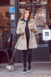 Ashley Tisdale - Out for a coffee run at Joan's on Third in Studio City