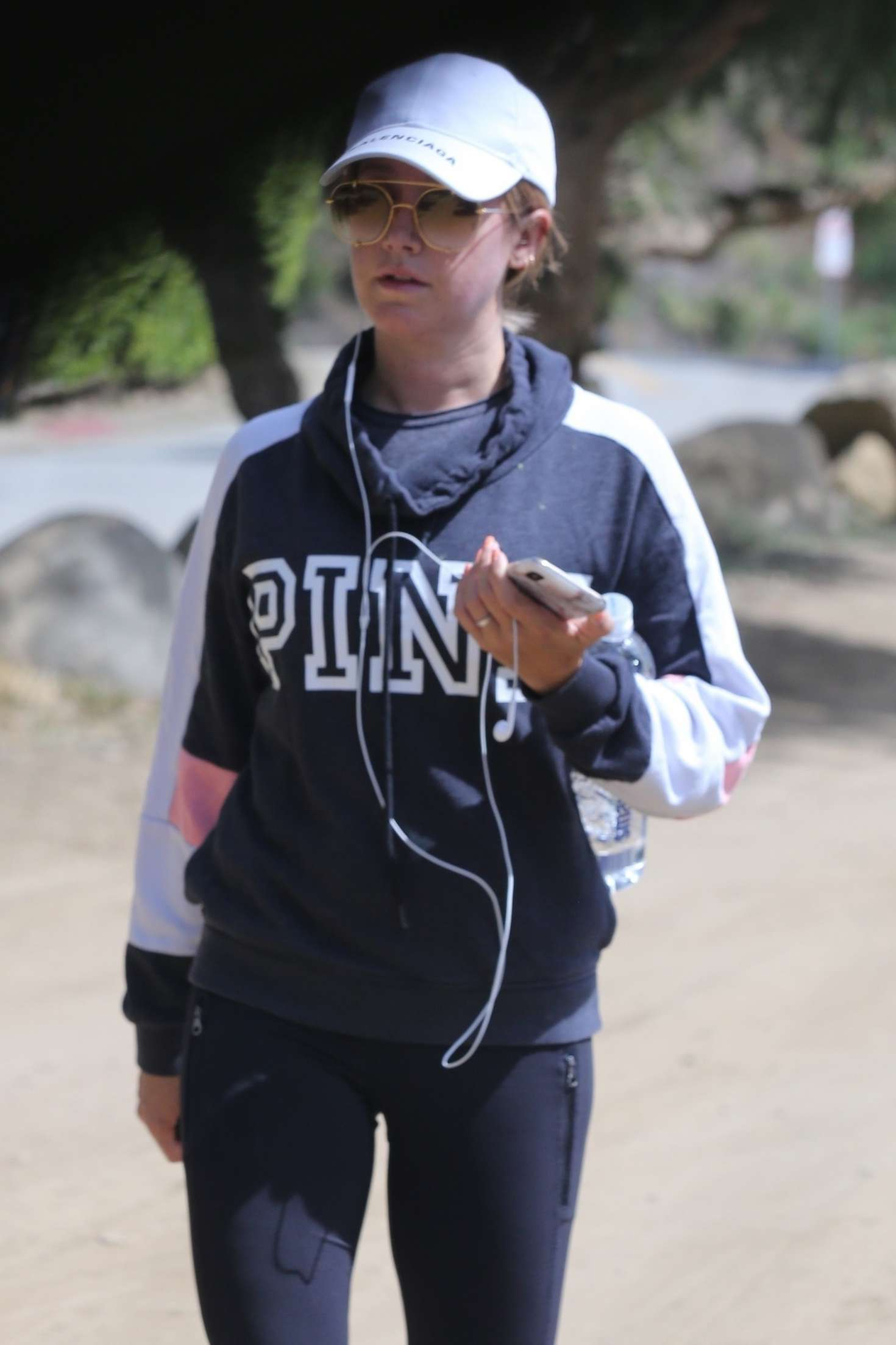 Ashley Tisdale 2019 : Ashley Tisdale: Out for a hike in Los Angeles -03