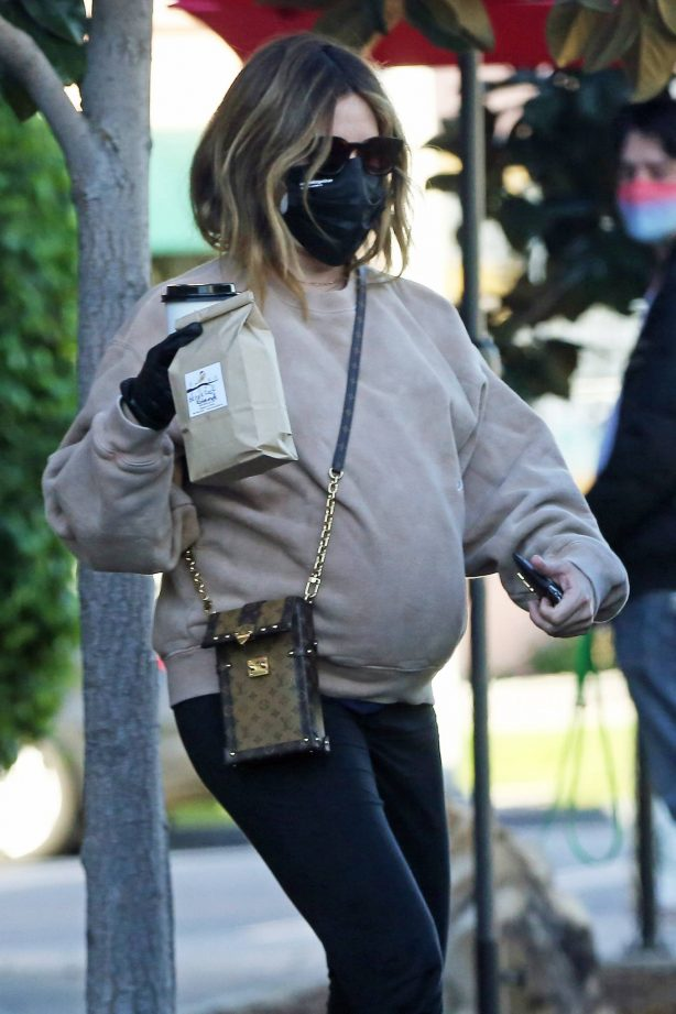 Ashley Tisdale - Out for a lunch in Los Angeles