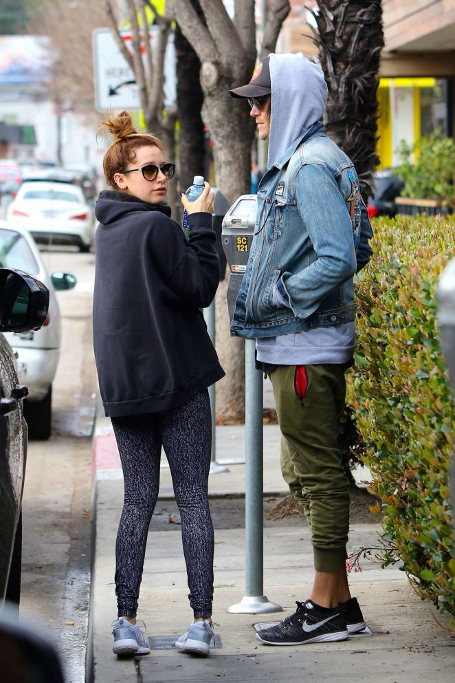 Ashley Tisdale: Out for brunch in Studio City -02