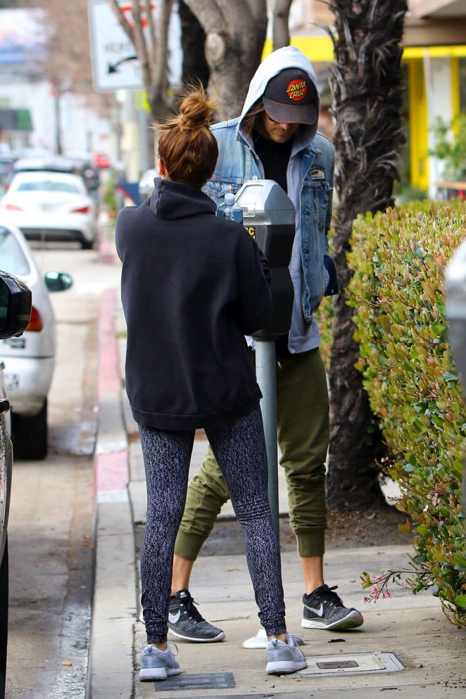 Ashley Tisdale: Out for brunch in Studio City -10