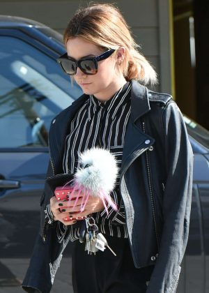 Ashley Tisdale out in LA