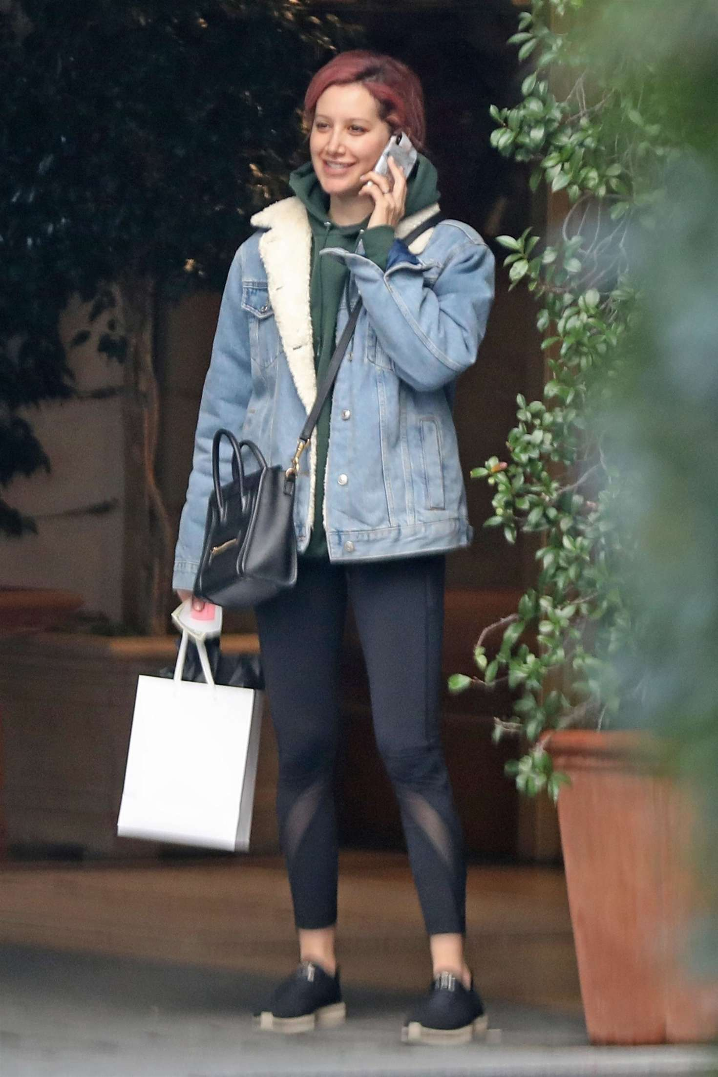 Ashley Tisdale - Out in Los Angeles