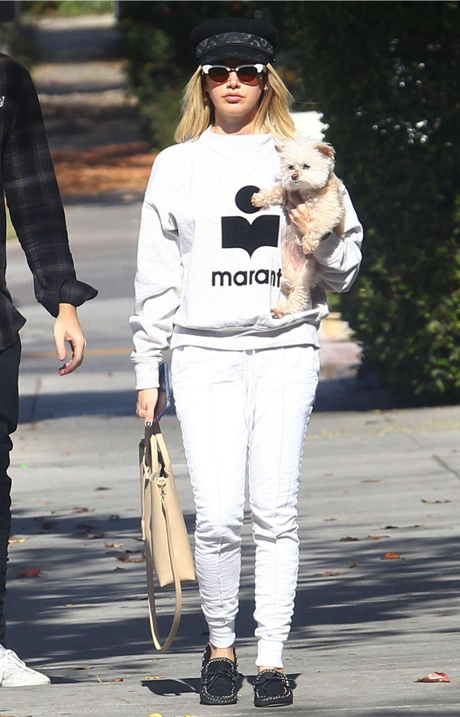 Ashley Tisdale - Out in Los Feliz