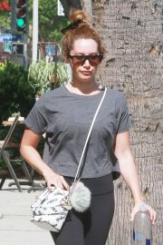Ashley Tisdale - Out in Studio City