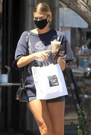 Ashley Tisdale - Outside Joan' on Third in Studio City
